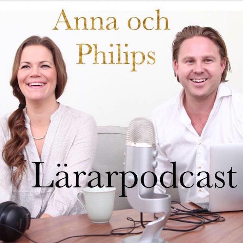 Anna och Philips Lärarpodcast show art