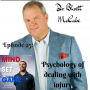Artwork for #25 Dr Bhrett McCabe - Psychology of dealing with injury