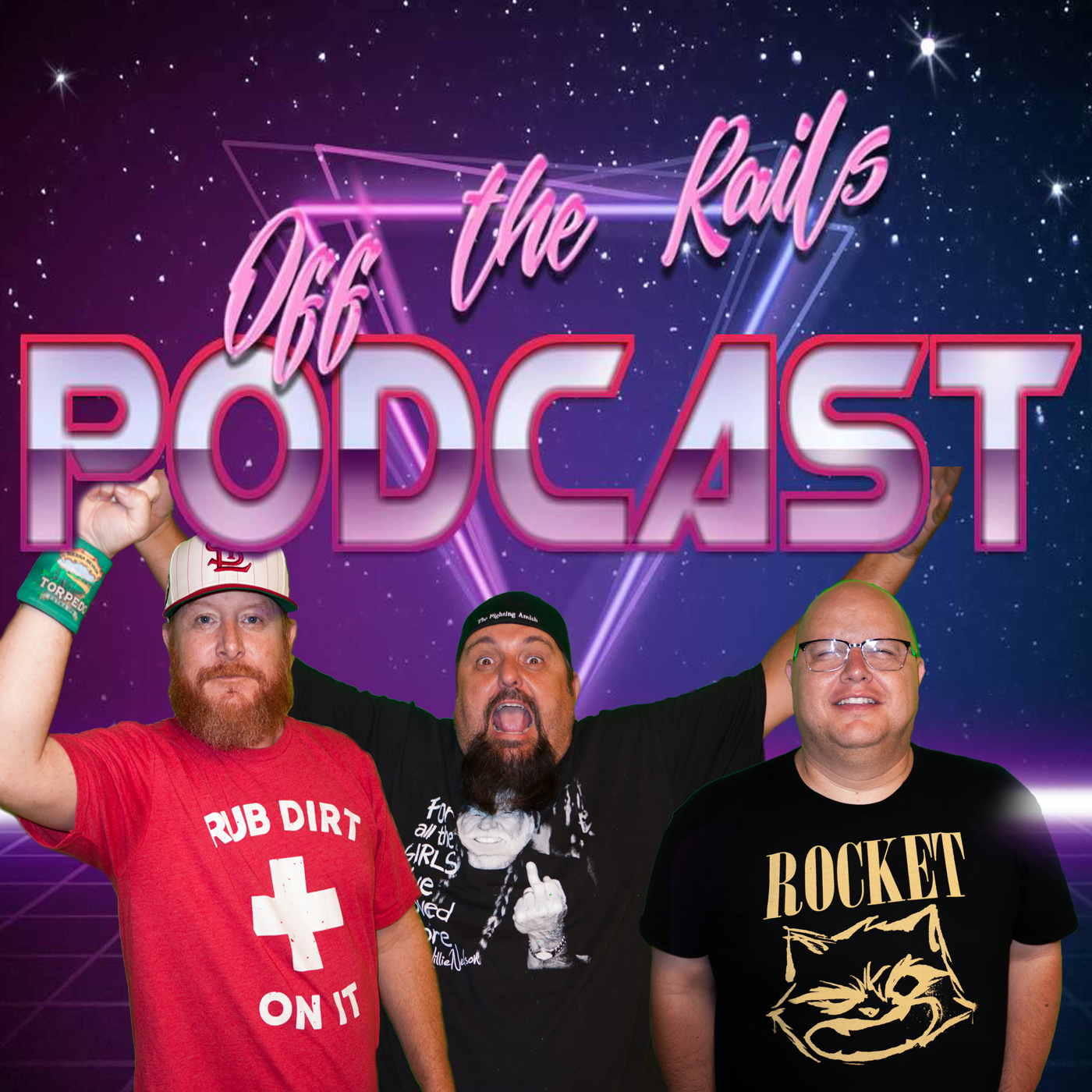 Off The Rails Podcast: or (The Unexpected Humor in Pop Culture) logo