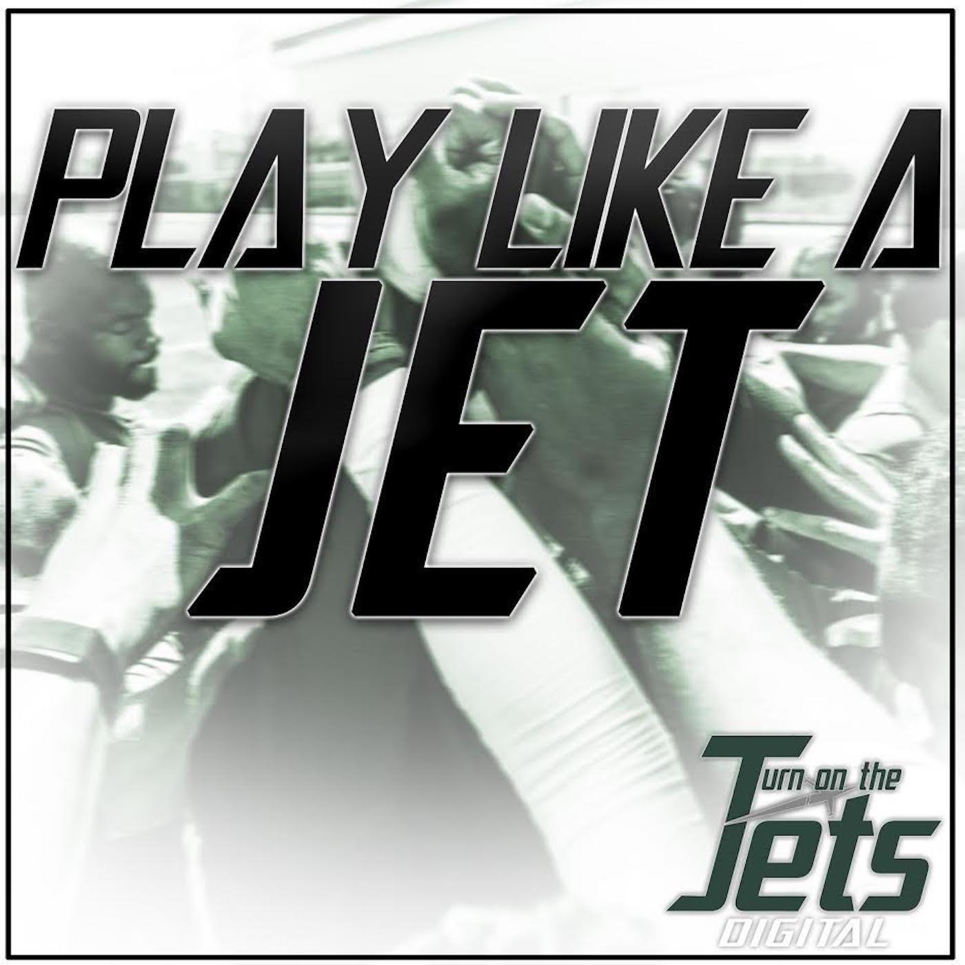 Play Like A Jet show art