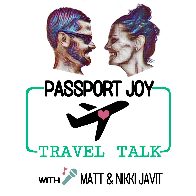 Passport Joy Travel Talk show art