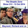 Artwork for The Skeptic Zone #312 - 12.Oct.2014