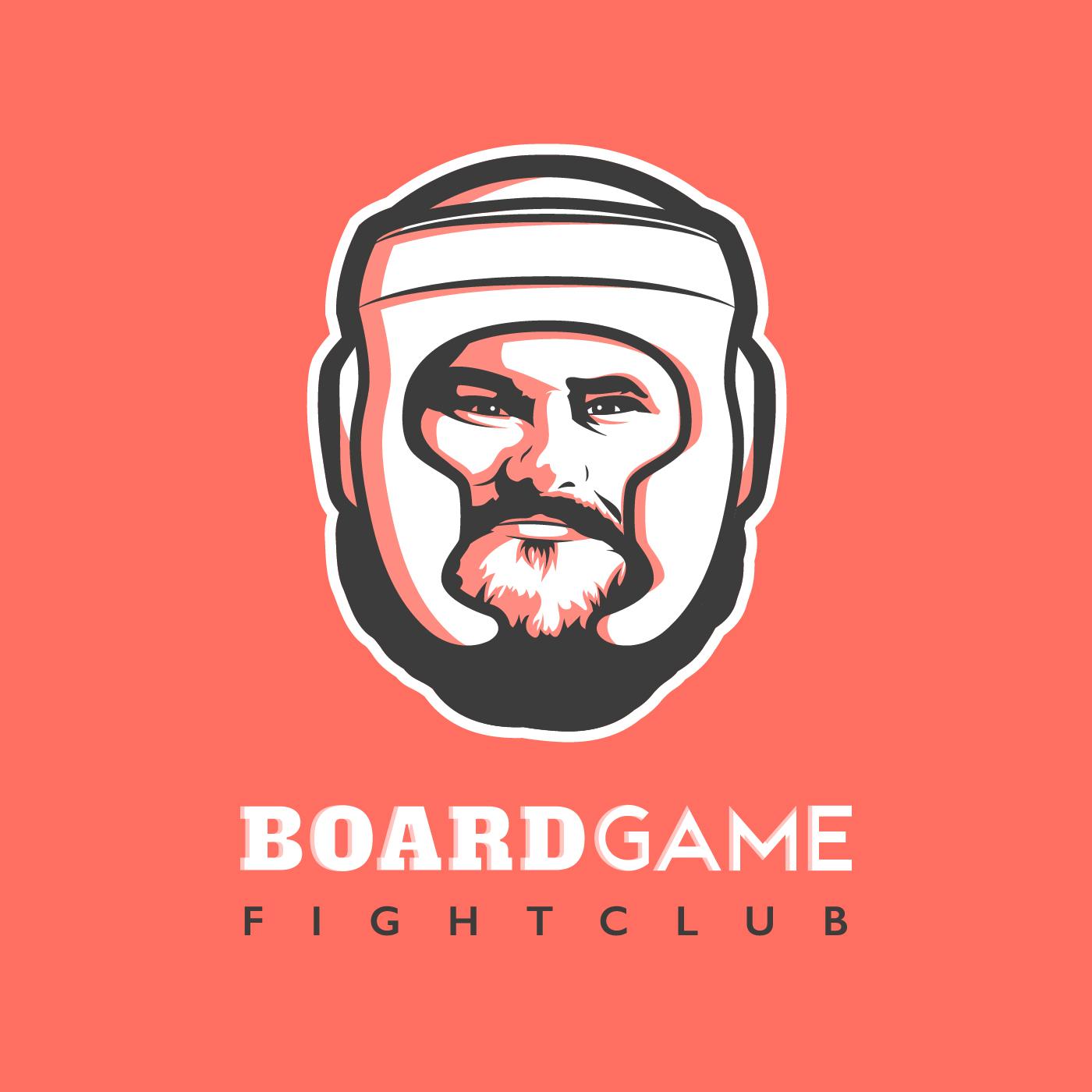 Board Game Fight Club show art