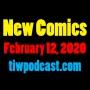 Artwork for New Comics - February 12, 2020