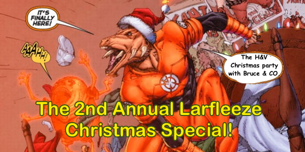 Heroes and Villains 102: Second Annual Christmas Special with Guests Galore!