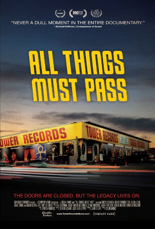 Ep. 199 - All Things Must Pass: The Rise and Fall of Tower Records (American Hustle vs. The Wolf of Wall Street)