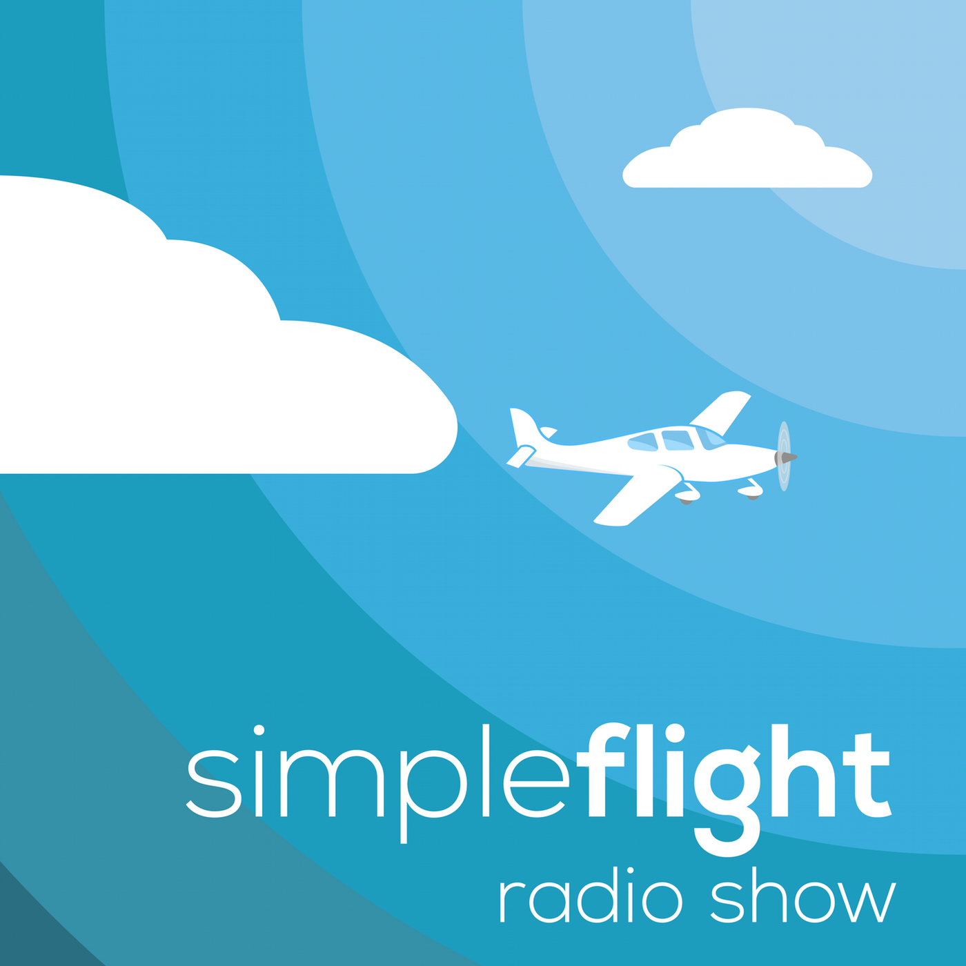 SimpleFlight Radio show art