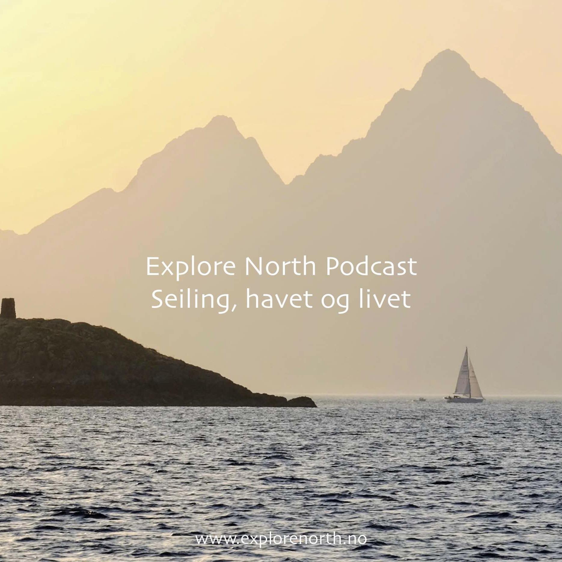 Explore Norths podcast show art