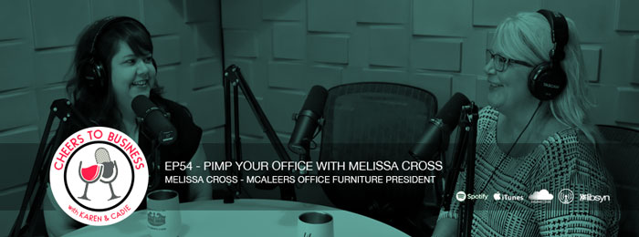 Melissa Cross on the Cheers To Business podcast