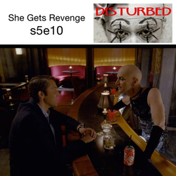 She Gets Revenge s5e10 - Disturbed: The American Horror Story Hotel Podcast
