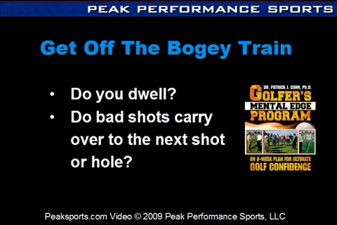 Artwork for How to Let Go of Bad Shots and Get Off the Bogey Train