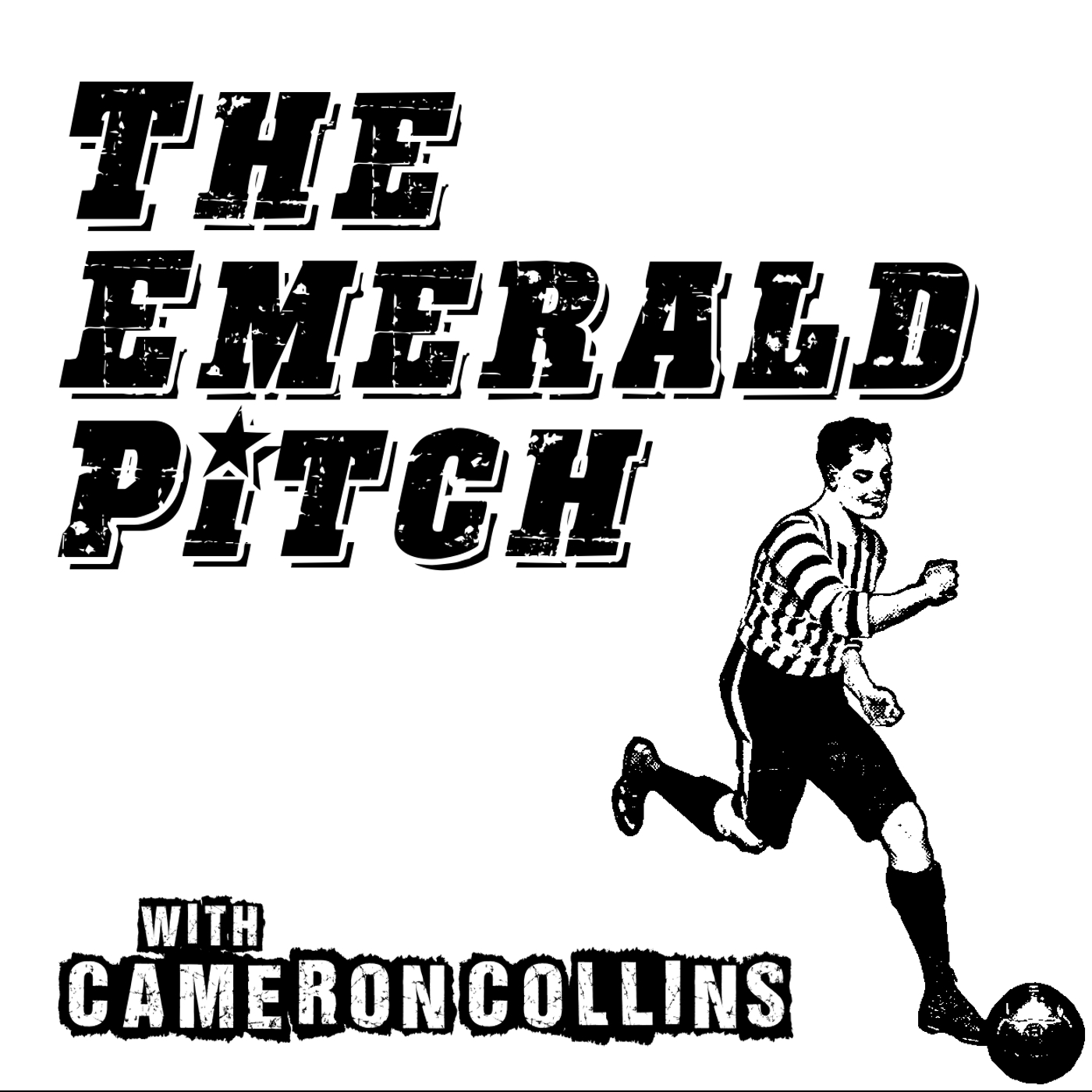 The Emerald Pitch show art
