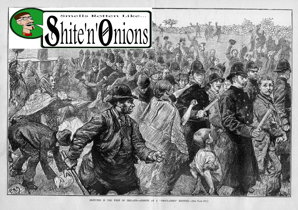 Shite'n'Onions celtic-punk Paddy's Days special - Podcast #90