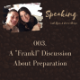 "Artwork for 003. A ""Frankl"" Discussion About Preparation"