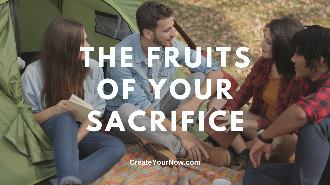 2444 The Fruits of Your Sacrifice show art