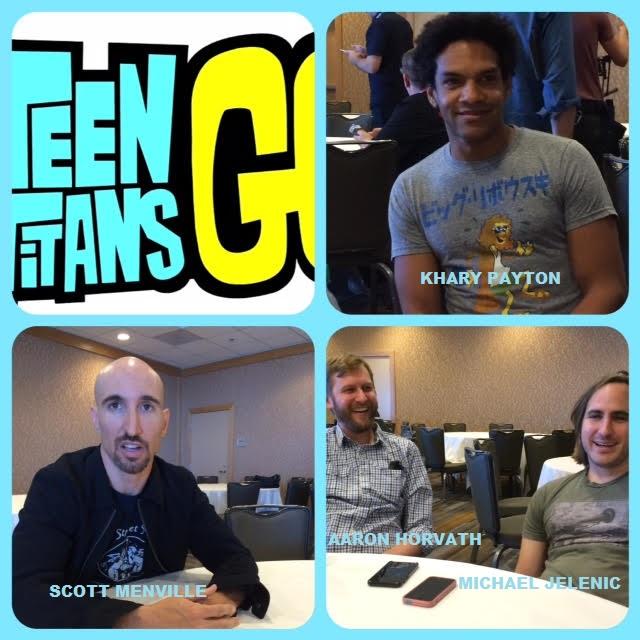 Episode 628 - SDCC: Teen Titans Go! w/ Scott Menville/Khary Payton/Aaron Horvath/Michael Jelenic!