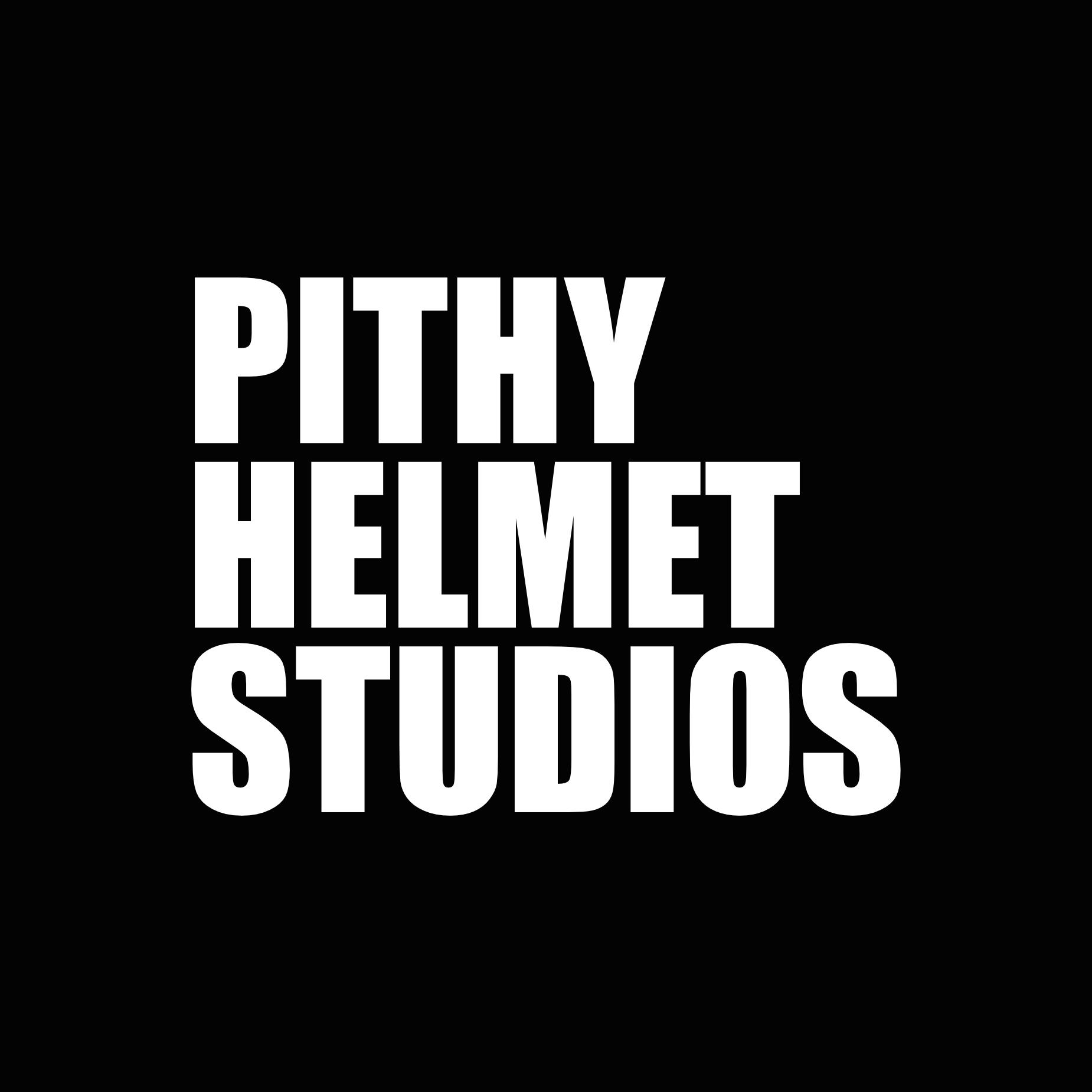 The Pithy Helmet Podcast show art