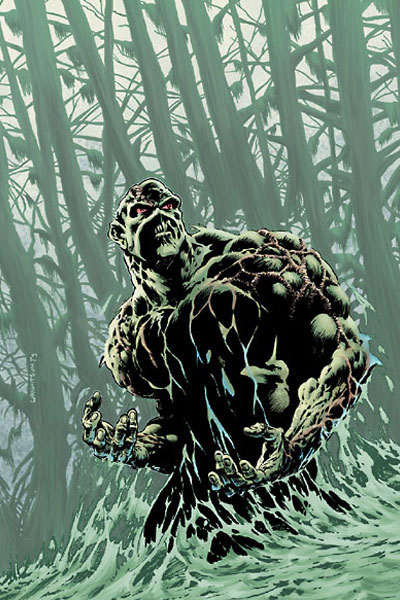 Episode 9 - Swamp Thing, or he Is Basically A Big Green Dude