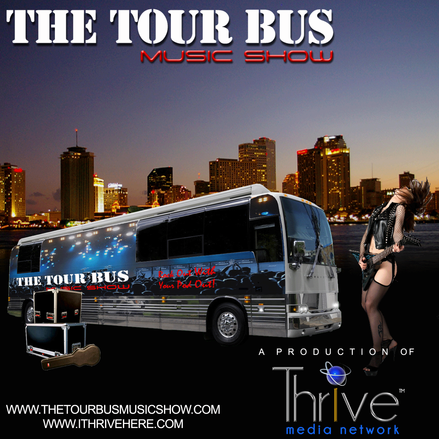 The Tour Bus Music Show - Episode# 44 – Interview and Music With American Swindle