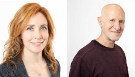 Samantha Singer and Dr. Richard Ransohoff