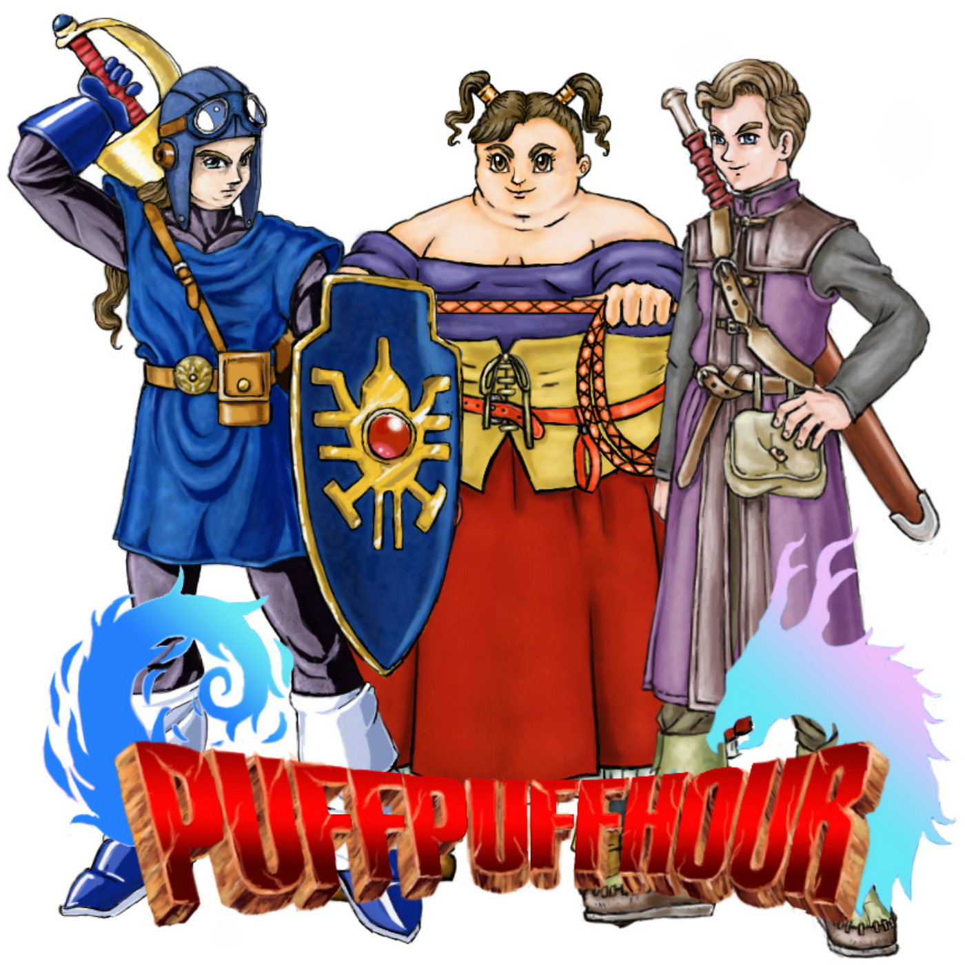 Puff Puff Hour: A Dragon Quest Podcast show art