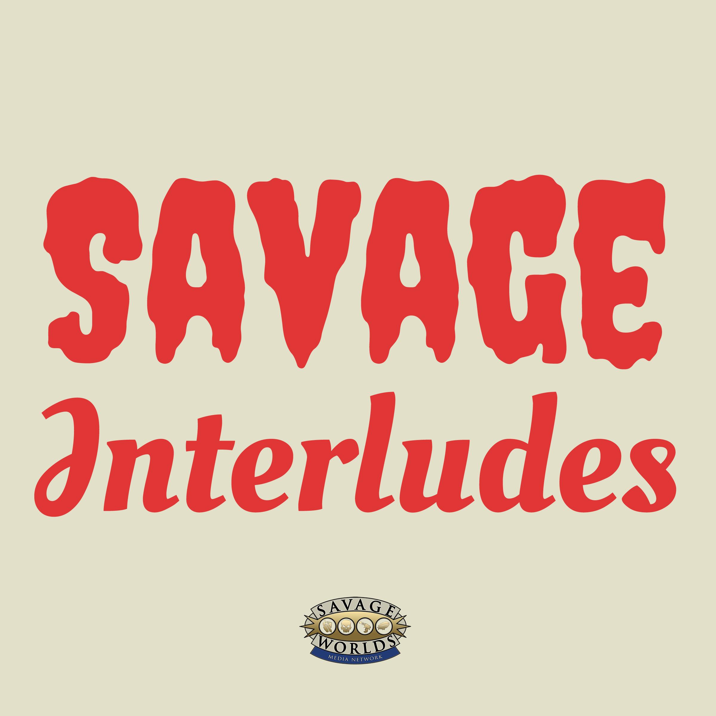 Savage Interludes show art