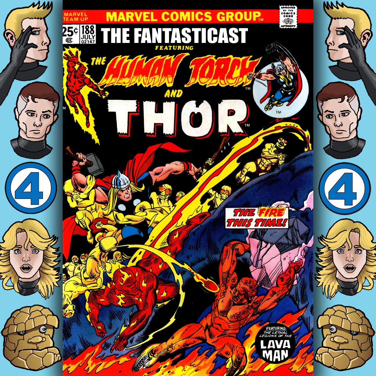 Episode 188: Marvel Team-Up #26 - The Fire This Time
