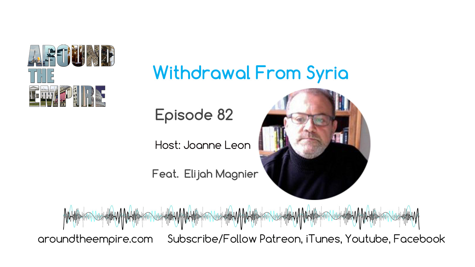 Ep 82 Syria Withdrawal feat Elijah Magnier