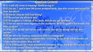 Ask Dr. Doreen - November 6th, 2013