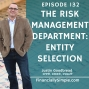 Artwork for The Risk Management Department: Entity Selection