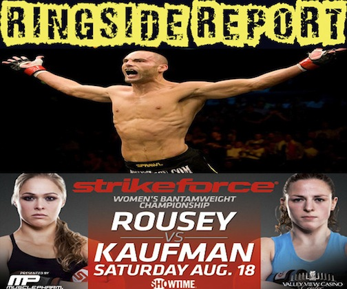 Ringside Report Radio. August 15, 2012