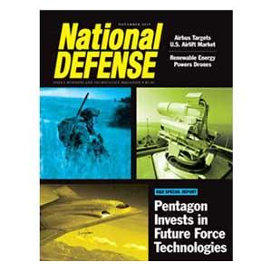 Artwork for Pentagon Invests in Future Force Technologies — November 2015