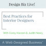 Artwork for 312: Design Biz Live: Best Practices for Profitability
