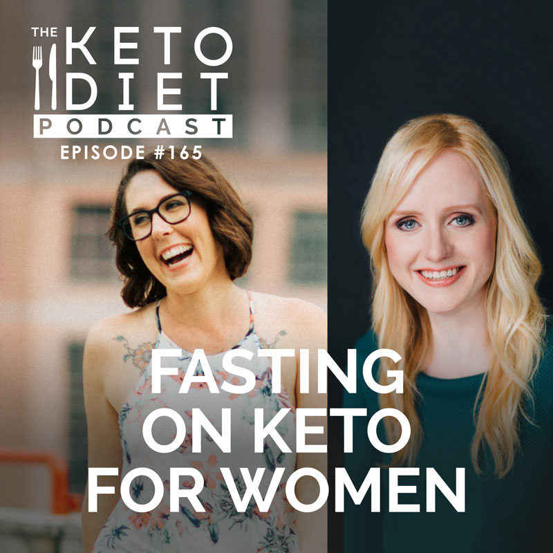 #165 Fasting on Keto for Women with Megan Ramos