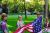 Girl Scouts Help in COVID-19 Battle show art