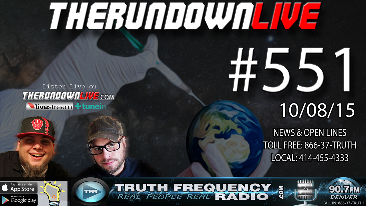 The Rundown Live #551 (Robots,Weather Mod,Space & Asteroid)