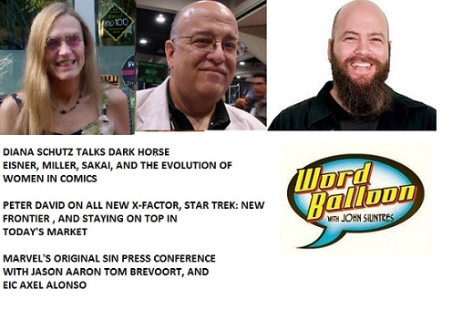 Word Balloon Podcast Diana Schutz Peter David Marvel Original Sin Press Conference