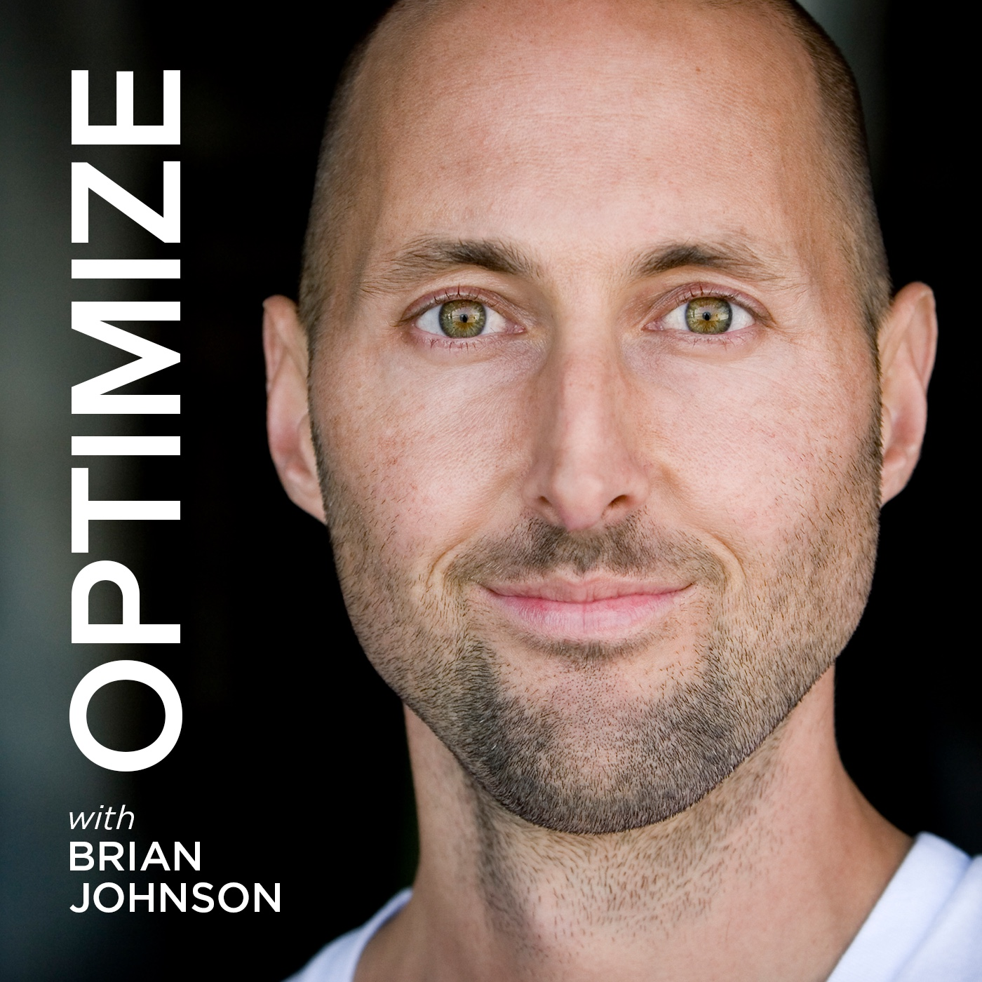 OPTIMIZE with Brian Johnson | More Wisdom in Less Time show art