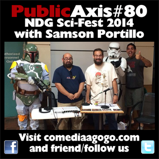 Public Axis #80: NDG Sci-Fest 2014 with Samson Portillo