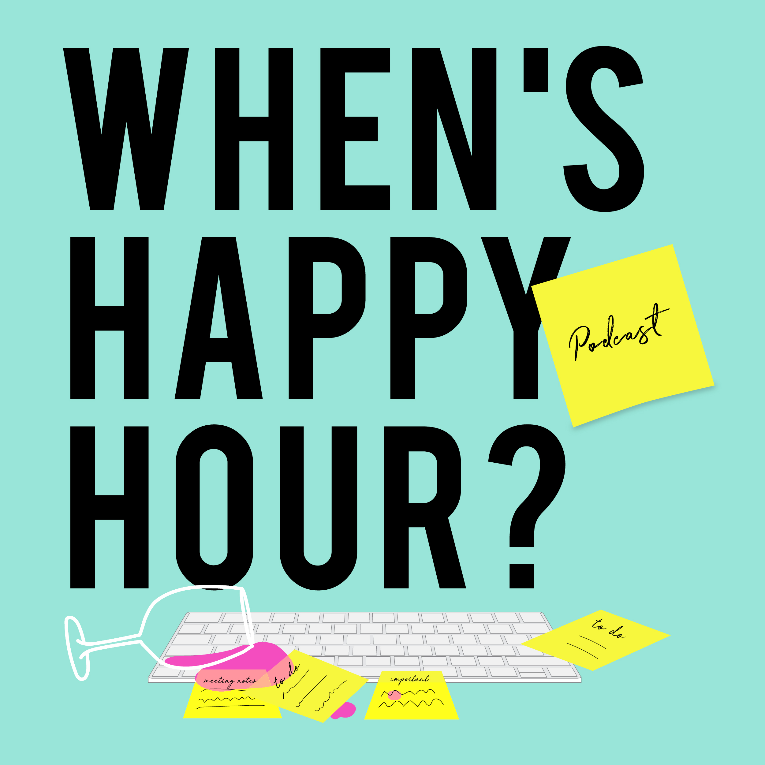 When's Happy Hour show art