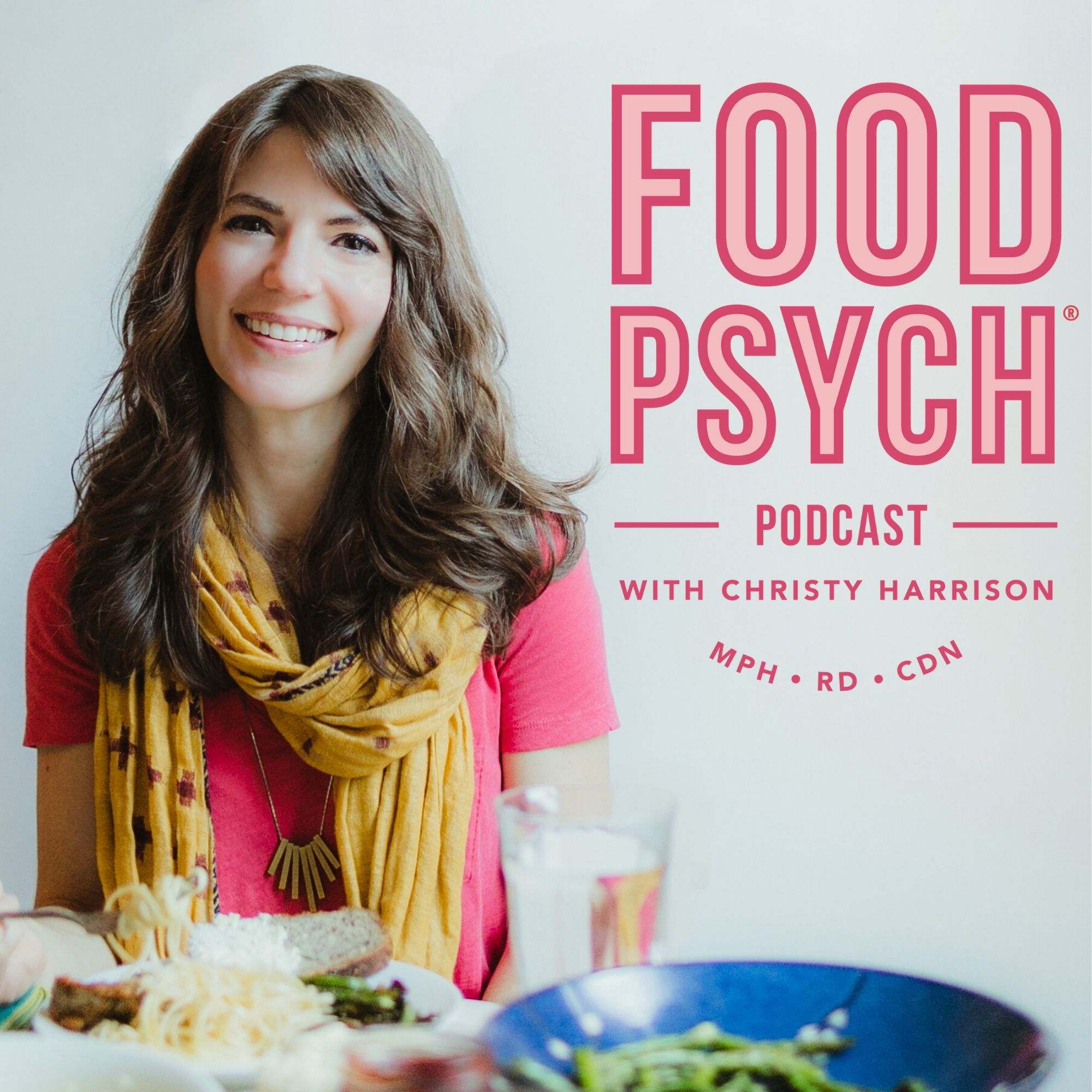 Food Psych Podcast with Christy Harrison show art