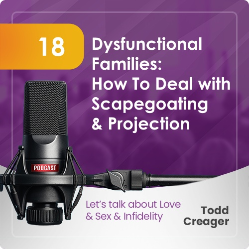 Episode #18: Dysfunctional Families - How To Deal with Scapegoating & Projectio