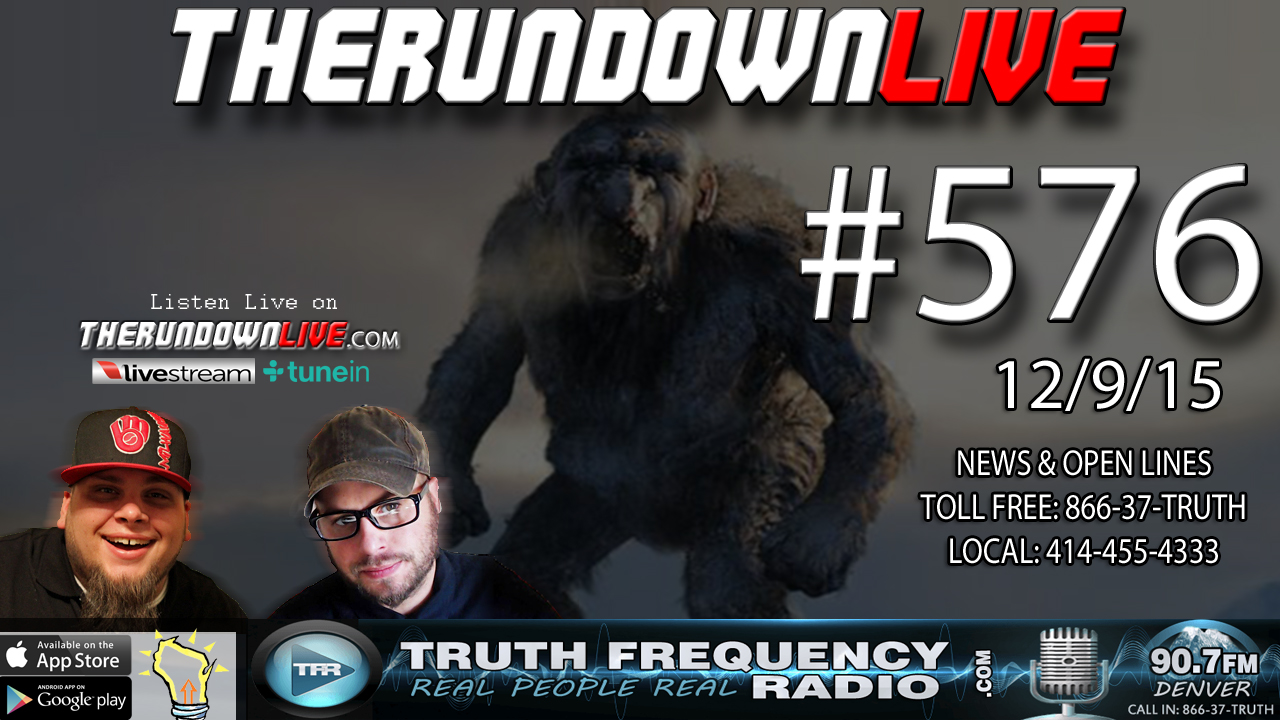 The Rundown Live #576 (USPS Swat Teams,Conspiracy Channel, Living Wage)