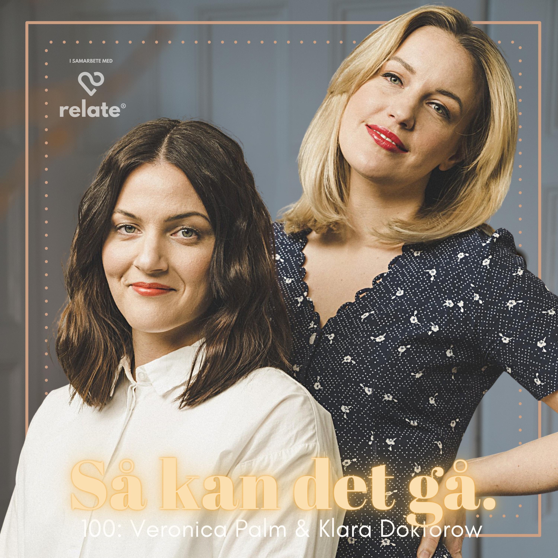 100. Veronika Palm & Klara Doktorow - Bråka lika/olika? Jämställt hemma? Plus relationstips på supernivå