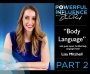Artwork for Episode 059 – Body Language with Lisa Mitchell, PART 2