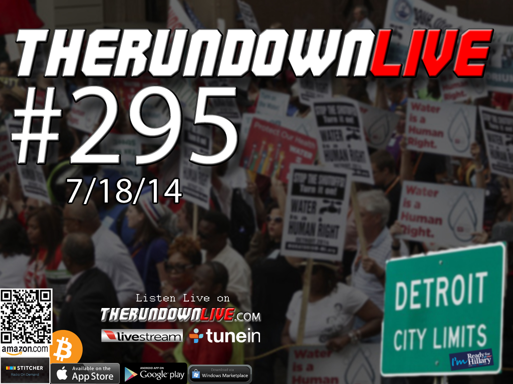 The Rundown Live #295 Open Lines (Police State, FEMA Camps, Detroit, HoloDeck)