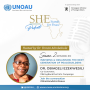 Artwork for Episode Thirteen: Inspiring and organising the next generation of peacebuilders an interview with Dr Obiageli Ezekwesili