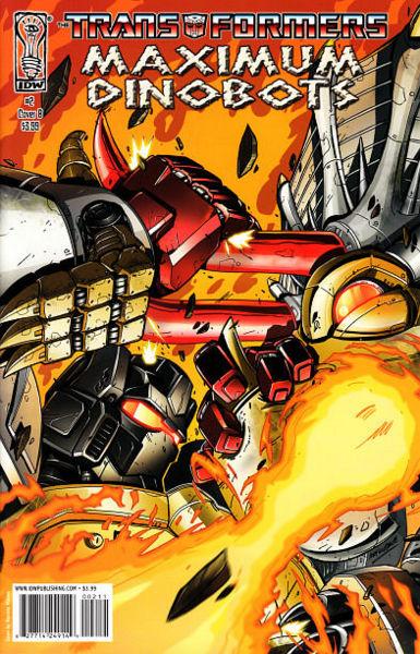Iaconic Reviews Transformers Maximum Dinobots #2