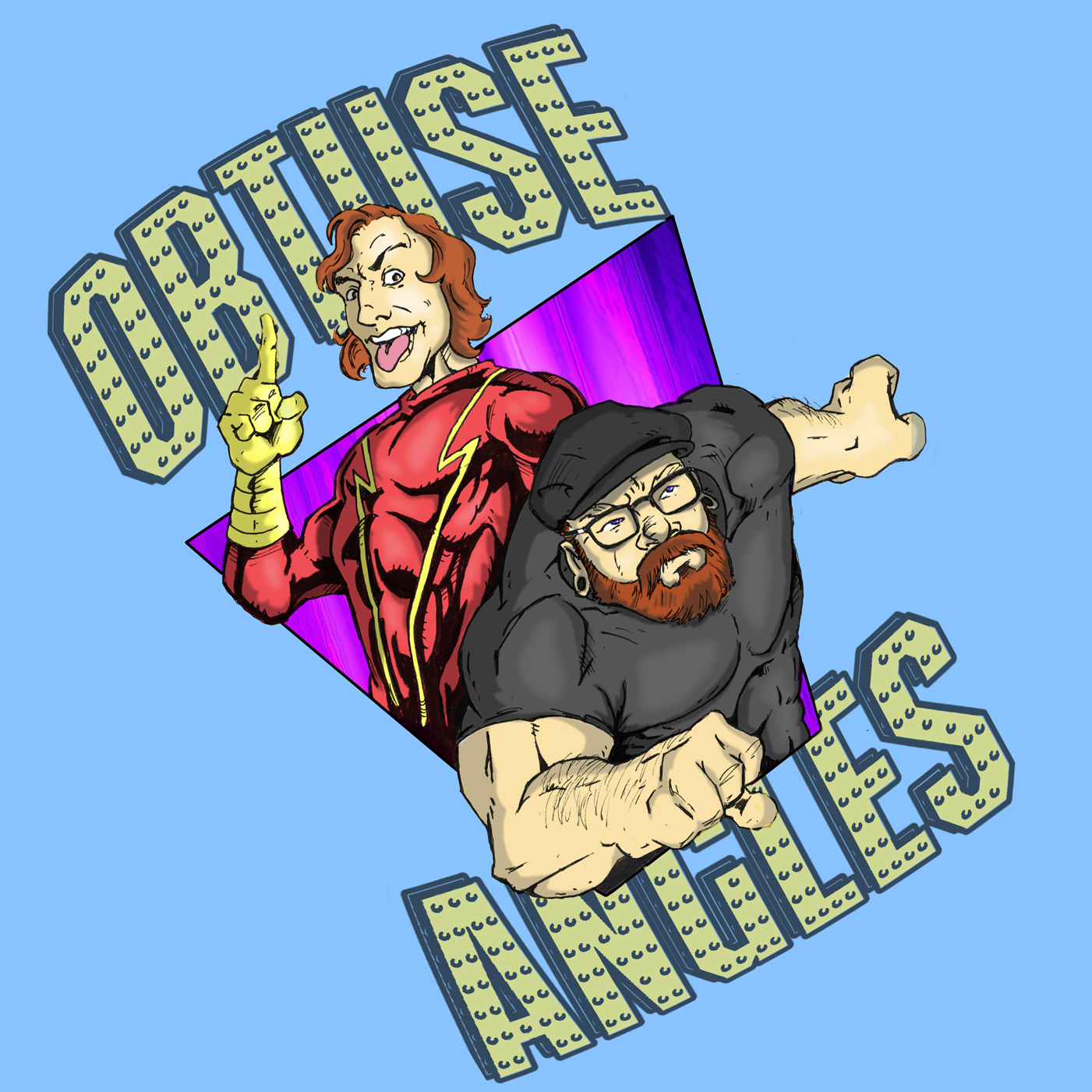 The Obtuse Angles Podcast show art