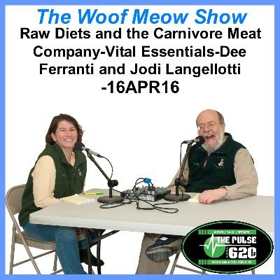 Raw Diets and the Carnivore Meat Company-Vital Essentials-Dee Ferranti and Jodi Langellotti